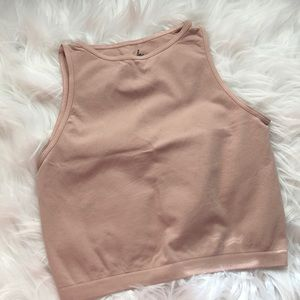 Free People high neck seamless crop size XS/S NWOT